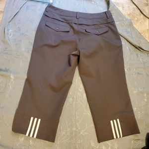 Adidas cropped golf pants